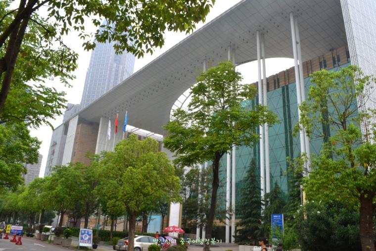 ▲ 남경도서관은 총독부의 입구 건너편에 있었다.