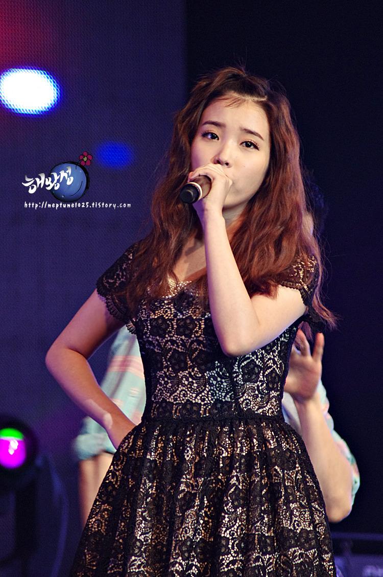 110831 삼성&멜론 라이브셋 콘서트 < 아이유 >