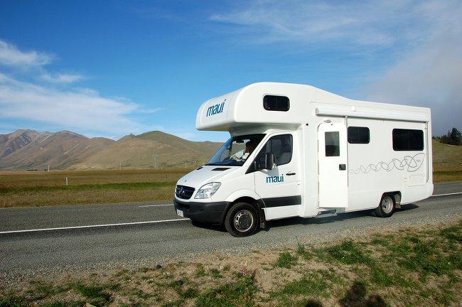 Campervan Traveling Day 1 - Lake Tekapo