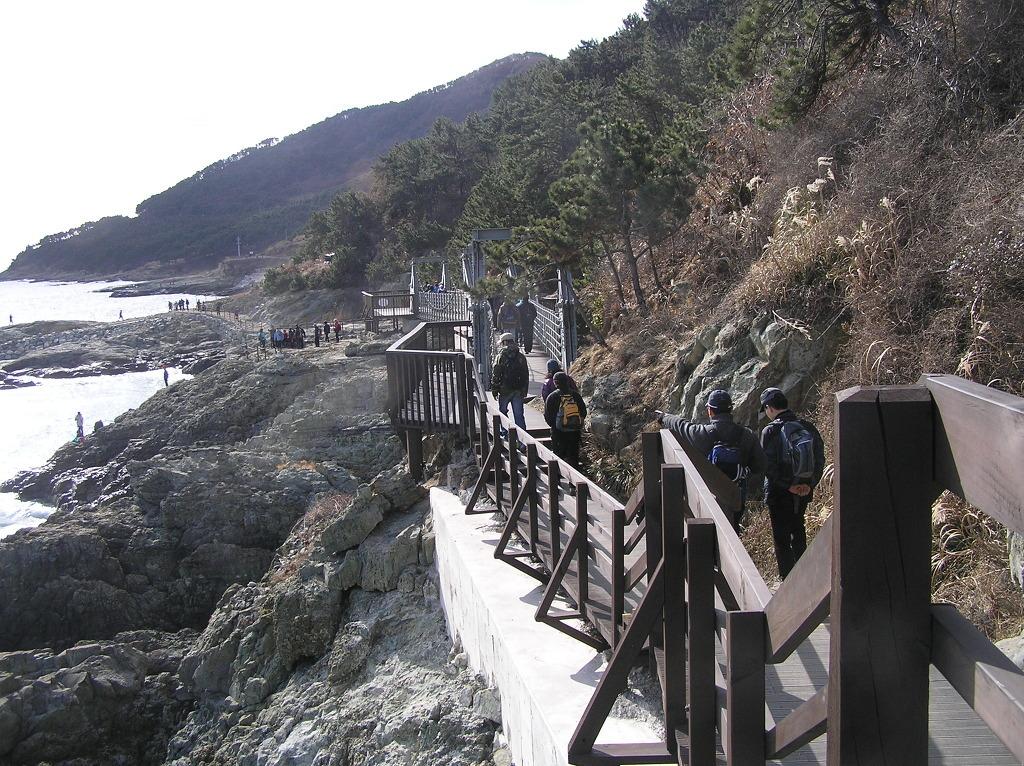 2010년 2월7일 카투사 부산전우회 부산 이기대 단합 하이킹실시