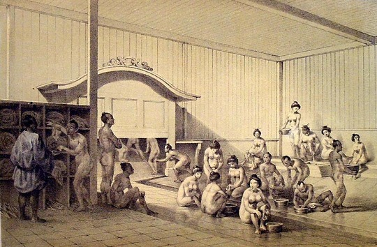 일본 남녀혼욕 - 남녀혼탕과 온천 노천탕, 목욕탕의 놀라운 일본 목욕 문화