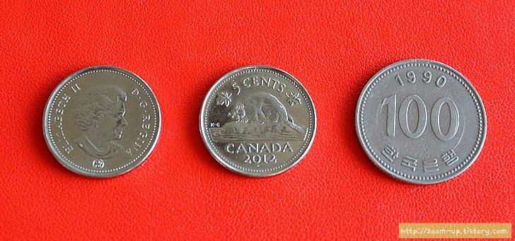 캐나다 역사와 동전 이야기 : 5센트 니켈