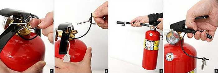 소화기 사용법