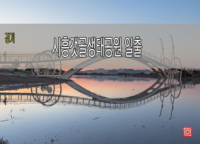 시흥갯골생태공원 일출