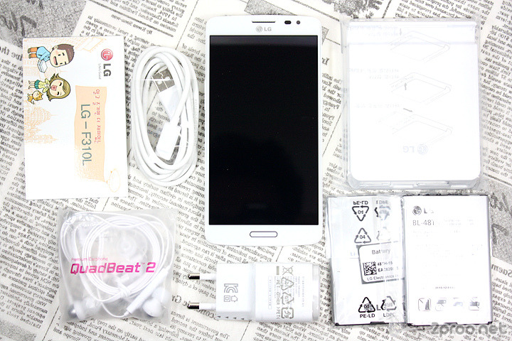 LG Gx 박스 구성품