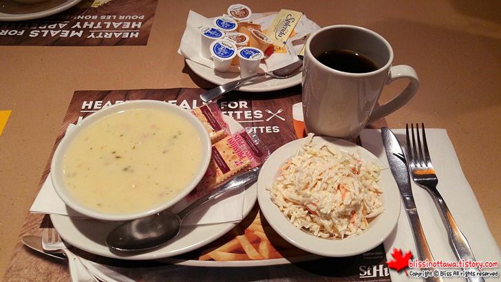닭고기 크림 수프