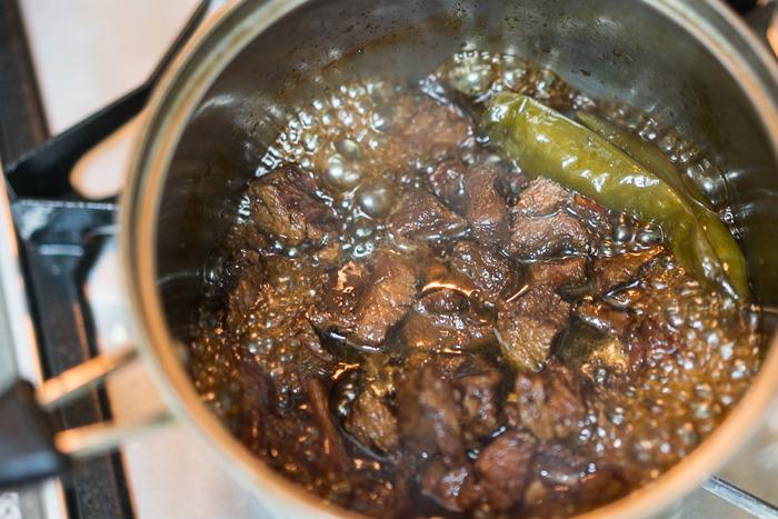 산청목장 유기농 한우로 만든 술안주 장조림, 사태도 이제 유기농 소고기로 ^0^