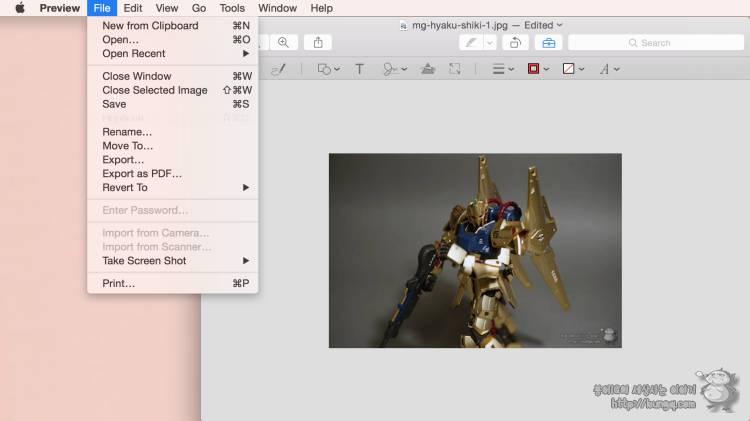 mac, 맥, 사진, 이미지, 리사이즈, resize, 사진크기줄이기, 미리보기