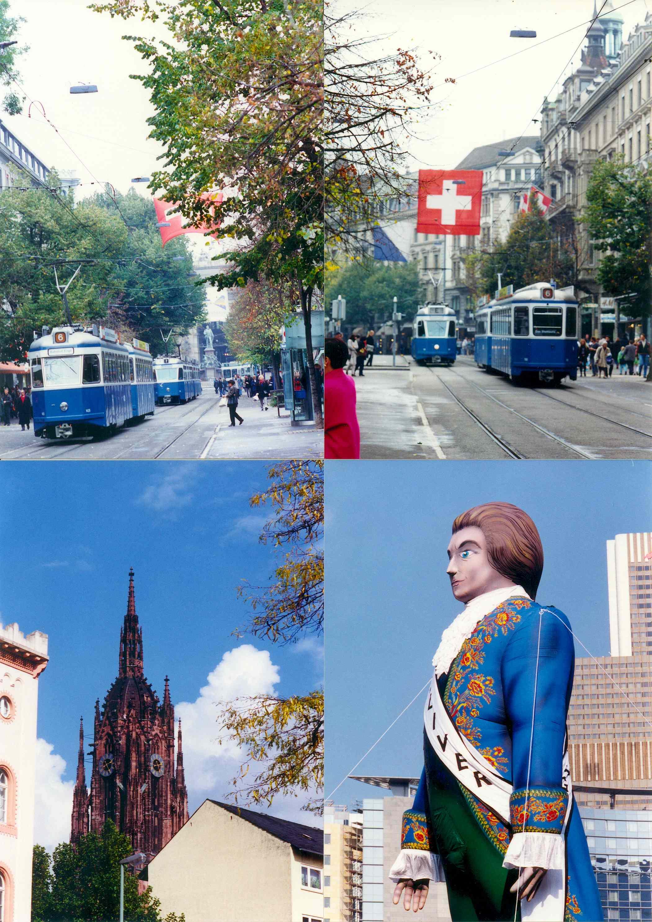 1996년 스위스 쮜리히 & 독일 하이델베르그, 독일 프랑크푸르트