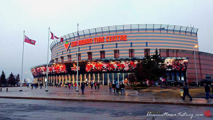 캐나다 오타와 다목적 경기장입니다