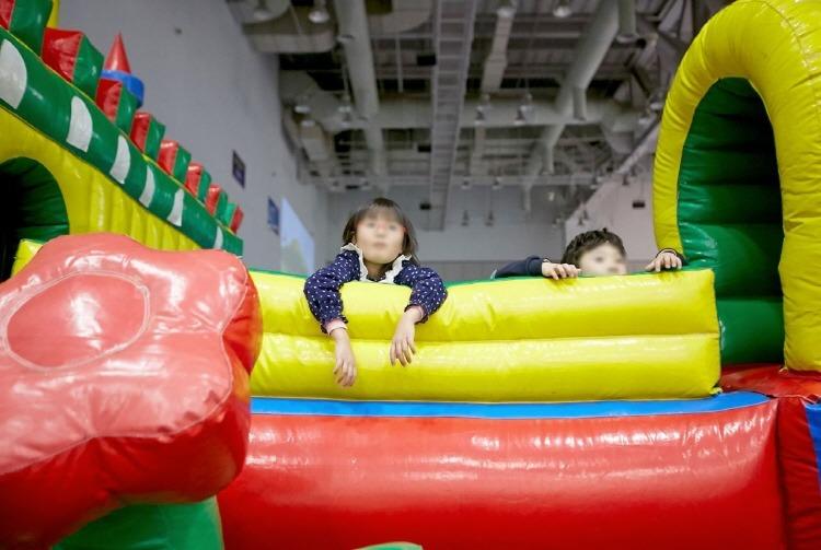 부산 벡스코 무지개 물고기 공룡월드