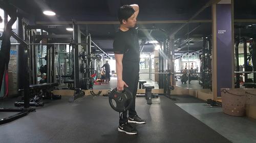 날씬한 옆구리 만들기 운동법 - 사이드 밴드(Side band)