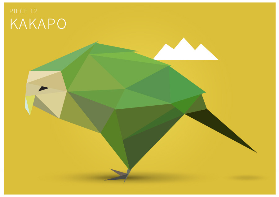 Piece 12 Kakapo