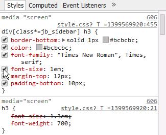 크롬 개발자도구로 블로그 스킨 수정하기 - css 영역