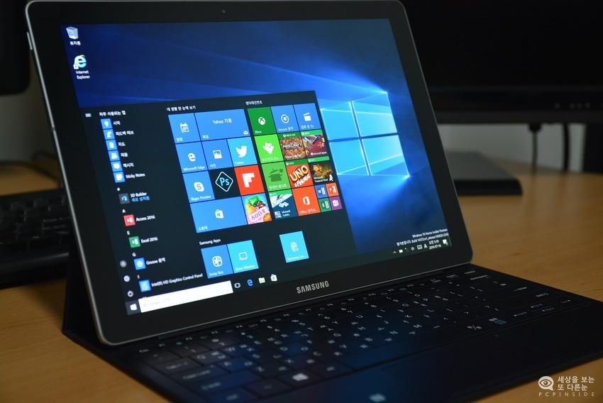 윈도우10 태블릿, 갤럭시탭프로S2 출시?