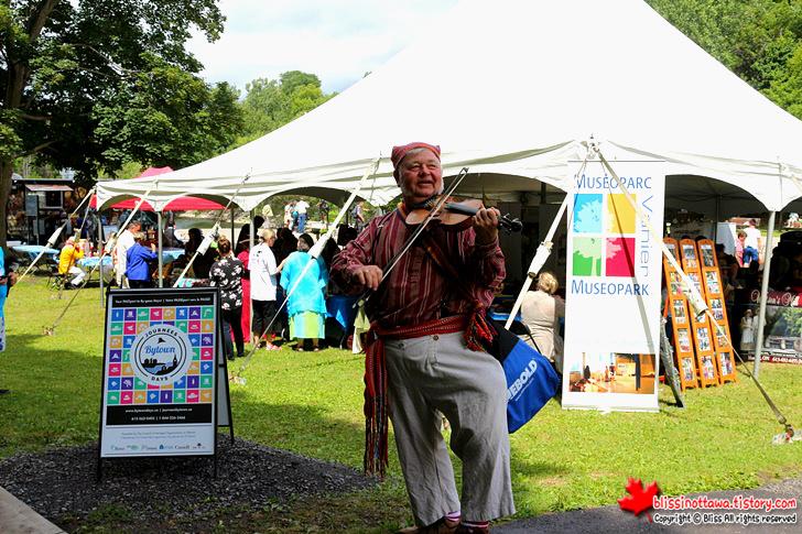 Colonel By Day 유네스코 세계문화유산 캐나다 오타와 리도운하 축제