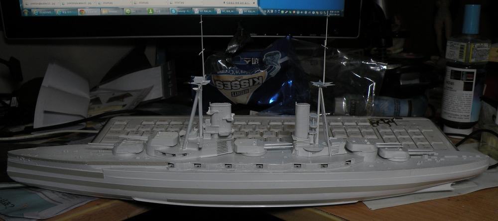 1/350 HMS 쾨니히 작업3
