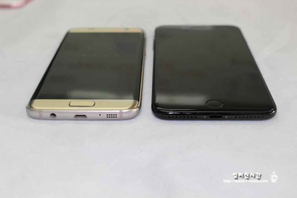 갤럭시s7엣지 vs 아이폰7 플러스