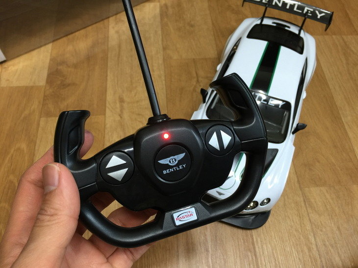 벤틀리 콘티넨탈 GT3 무선조종 자동차 장난감