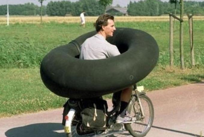 호브딩 자전거 에어백 헬멧, 에어백 헬맷