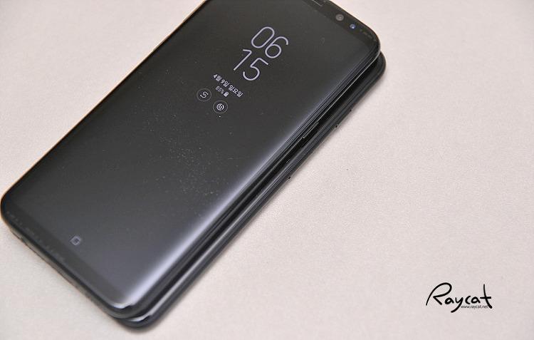 갤럭시 S8 플러스와 아이폰7 플러스