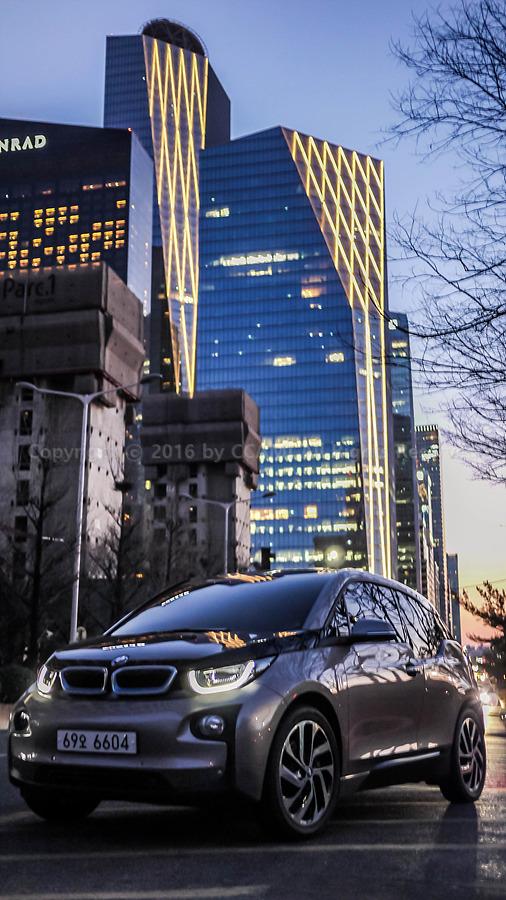 BMW, BMW i3, CCAMI, GF2, i3, IFC, ifc 몰, IFC몰, Panasonic, 까미, 미러리스, 반포대교, 사진, 새빛 둥둥섬, 새빛섬, 셔터스피드, 야경 사진, 여의도, 자동차, 자동차 사진, 전기차