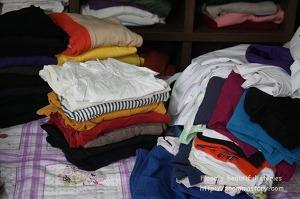 옷장정리, 옷, 티정리, 노하우, 정리
