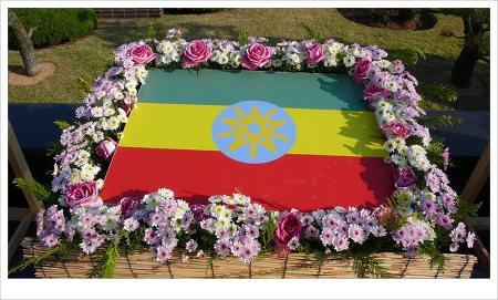 에디오피아 국기_UN묘지