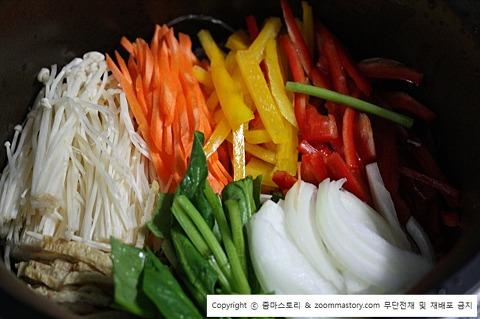 잡채, 명절음식, 추석음식, 만드는 법