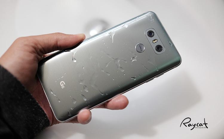 LG G6 방수기능 테스트
