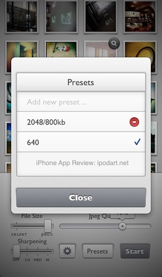reduce - Batch Resize Images and Photos for iPhone & iPad 아이폰 추천 사진 크기 변경 워터마크 넣기