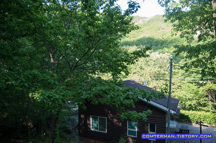 운장산자연휴양림 숲속의집
