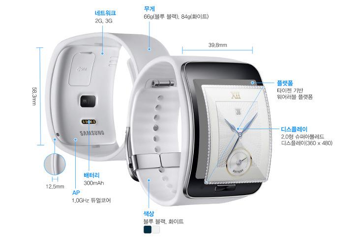 삼성 스마트워치 기어S