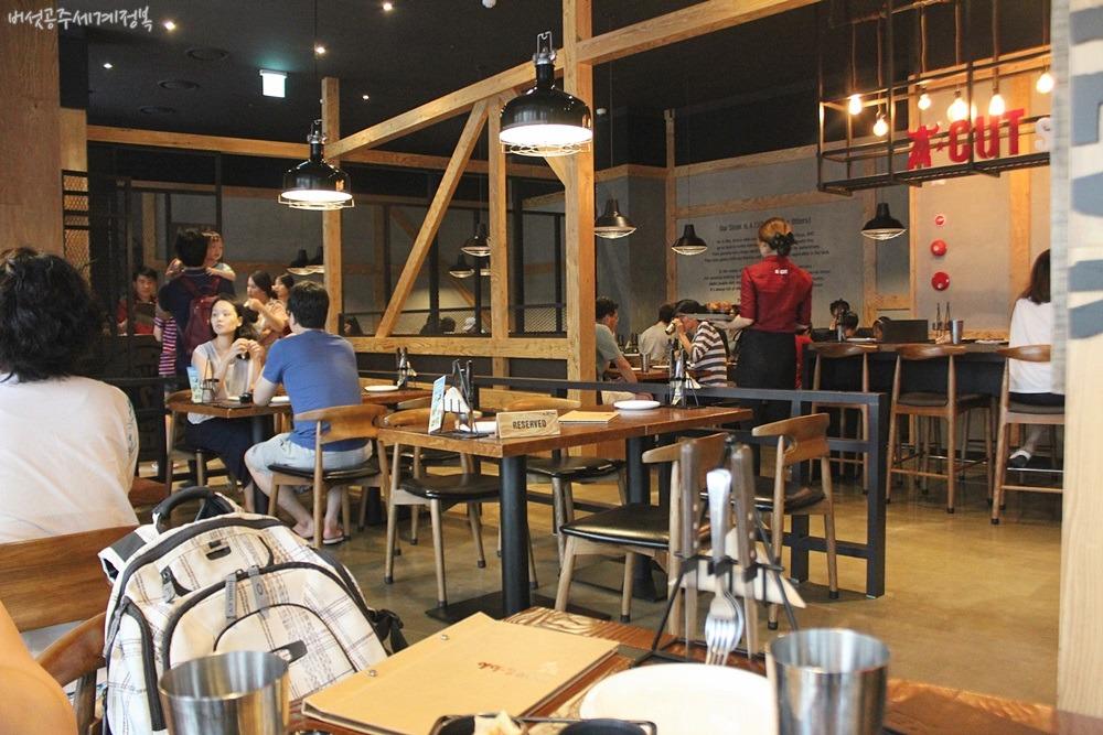 위례신도시 맛집 에이컷스테이크 위례점, 가족모임 하기 좋은 곳 :: 위례 트랜짓몰 나들이