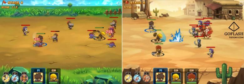 마이티나이트2 게임장면