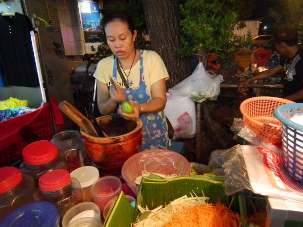 태국 음식 쏨땀