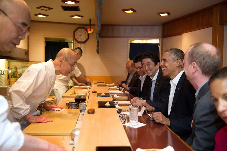 일본의 미슐랭가이드 별3개 초밥집들 1탄- 스키야바시 지로 -