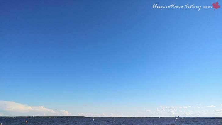 캐나다 하늘입니다