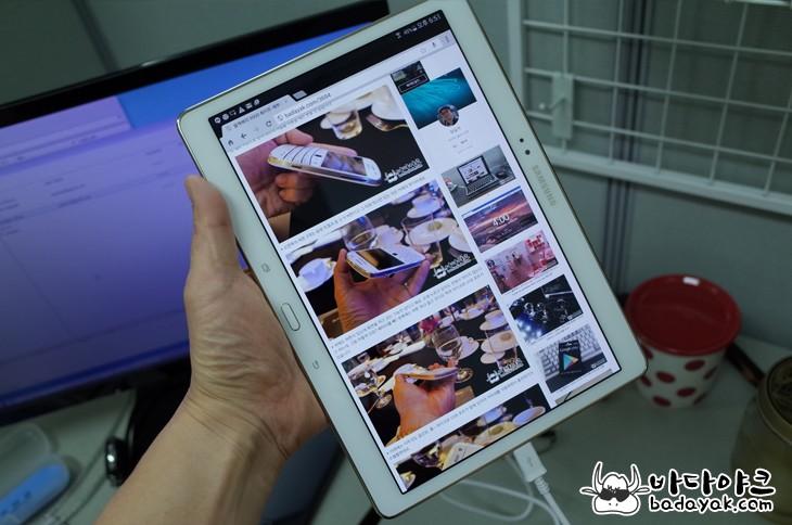 10인치 안드로이드 태블릿 삼성 갤럭시 탭S SM-T800 스펙