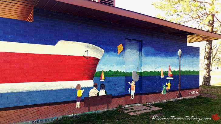 Brockville 벽화입니다