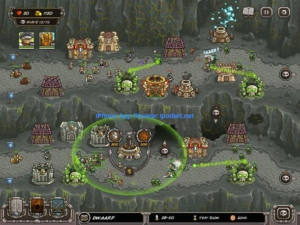 Kingdom Rush Frontiers 아이폰 아이패드 추천 전략 디펜스 게임
