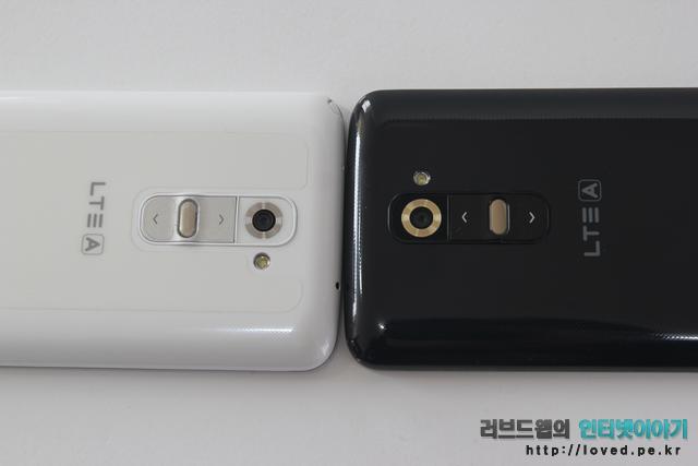 LG G2 골드 화이트 비교