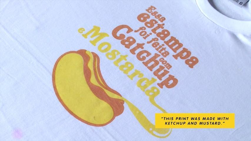 케첩과 머스터드, 간장과 초코우유로 티셔츠를 인쇄한다? - 브라질의 셀프 세탁소/셀프 빨래방, 라운드로맷(LaundroMat)의 음식 얼룩 실크스크린 인쇄(Food Stain Silk Screen) 바이럴 캠페인 [한글자막]