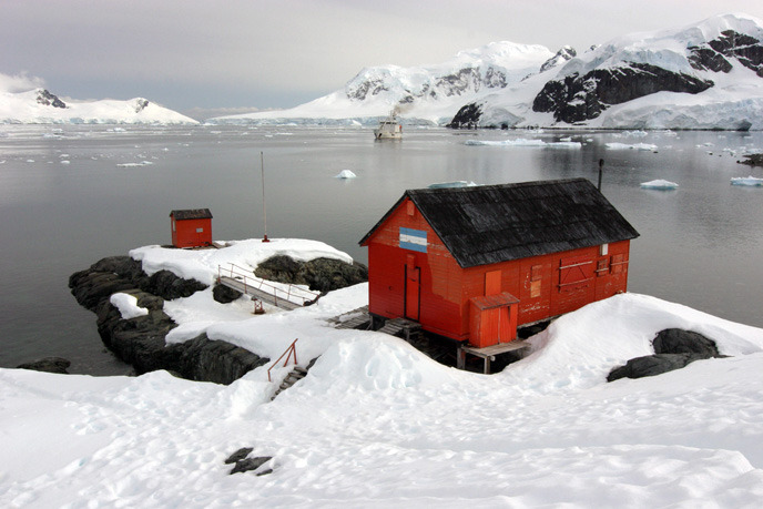 남극 과학기지에도 안정적인 통신 구축