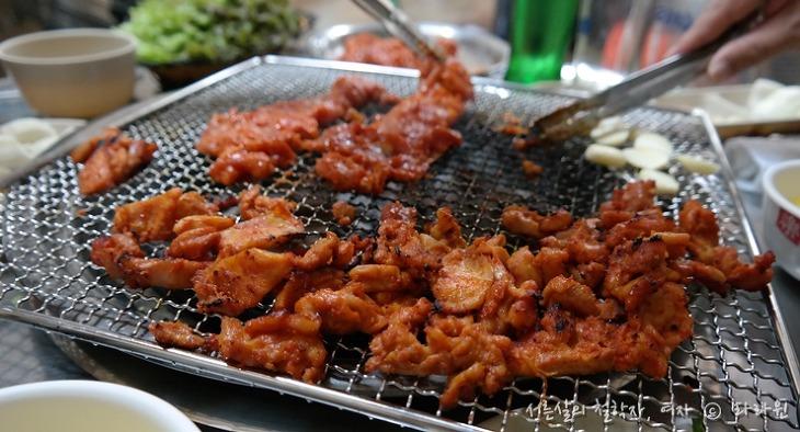 원조 숯불 닭불고기집, 춘천 원조 닭갈비 맛집, 춘천 데이트 코스,
