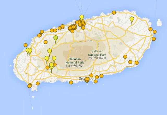 제주도 맛집과 관광지 정리 -  済州島観光スポット情報 - Jeju island tourist spot information - 济州岛旅游景点信息