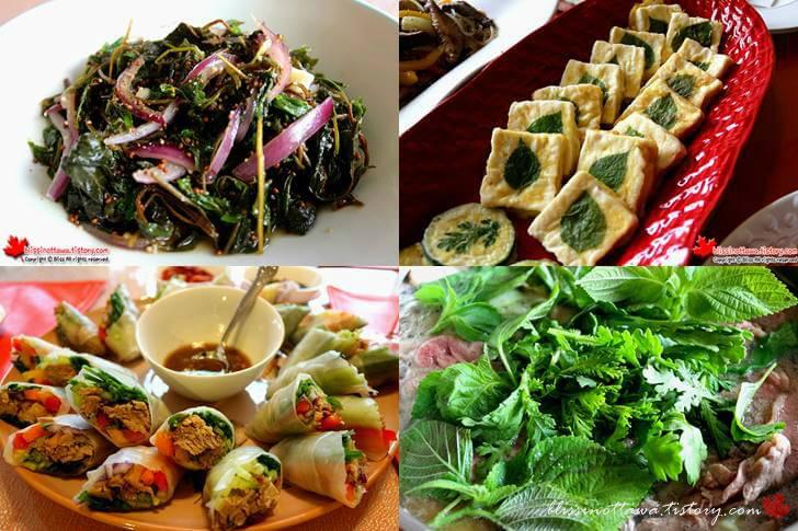텃밭 채소 깻잎을 활용한 요리들입니다
