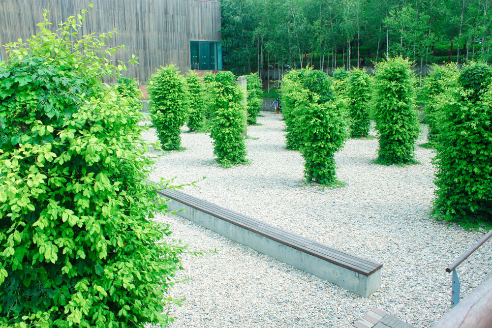 녹색기둥의 정원