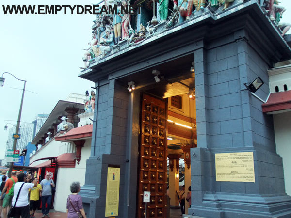 싱가포르 여행 - 차이나타운, 스리 마리암만 사원