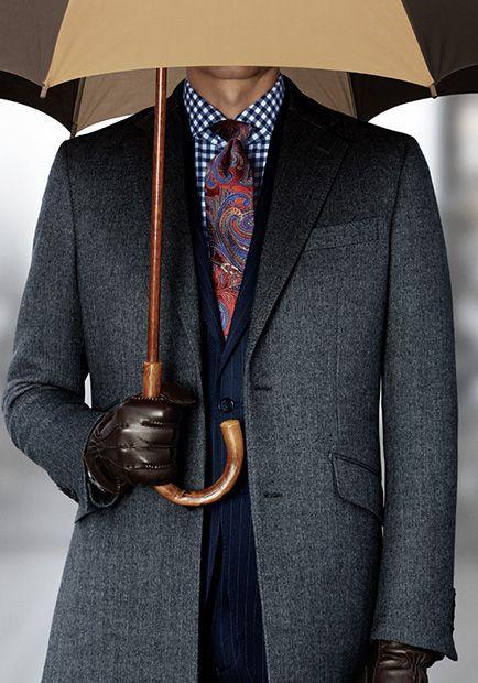 가을과 겨울 남자 패션 스타일 룩